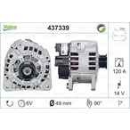Alternator VALEO 437339