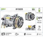 Kompresor klimatyzacji VALEO 813223
