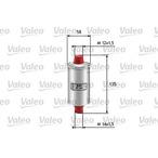 Filtr paliwa VALEO 587200