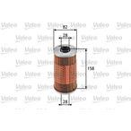 Filtr oleju VALEO 586534