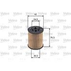 Filtr oleju VALEO 586539