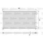 Chłodnica klimatyzacji - skraplacz VALEO 817799
