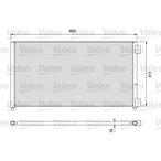 Chłodnica klimatyzacji - skraplacz VALEO 818017