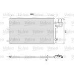 Chłodnica klimatyzacji - skraplacz VALEO 818046