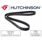 Pasek klinowy wielorowkowy HUTCHINSON 830 K 4