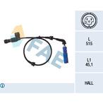 Czujnik prędkości obrotowej koła (ABS lub ESP) FAE 78014