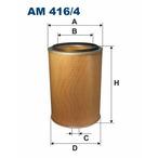 Filtr powietrza FILTRON AM 416/4