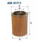 Filtr powietrza FILTRON AM 417/1