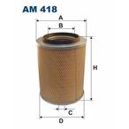 Filtr powietrza FILTRON AM 418
