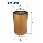 Filtr powietrza FILTRON AM 428