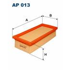 Filtr powietrza FILTRON AP 013