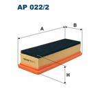 Filtr powietrza FILTRON AP 022/2
