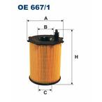 Filtr oleju FILTRON OE 667/1