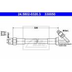 Przewód sprzęgła ATE 24.5802-0320.3