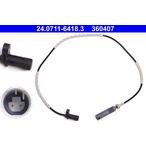 Czujnik prędkości obrotowej koła (ABS lub ESP) ATE 24.0711-6418.3