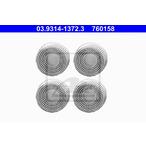 Tarcza oczyszczająca, zestaw do czyszczenia piasty koła ATE 03.9314-1372.3