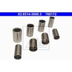 Zestaw tulei montażowych, tarcza / bęben hamulcowy ATE 03.9314-3000.3