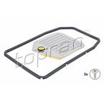 Zestaw filtra hydraulicznego automatycznej skrzyni biegów TOPRAN 502 745