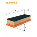 Filtr powietrza WIX FILTERS WA9556