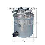 Filtr paliwa KNECHT KL 404/16