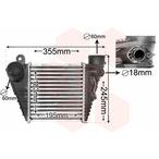 Chłodnica powietrza doładowującego - intercooler VAN WEZEL 03004185