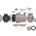 Kompresor klimatyzacji VAN WEZEL 3700K317