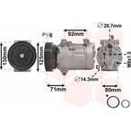 Kompresor klimatyzacji VAN WEZEL 4300K441