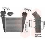 Chłodnica powietrza doładowującego - intercooler VAN WEZEL 58004238