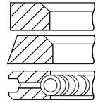 Zestaw pierscieni tłoka GOETZE ENGINE 08-406900-10