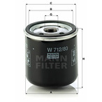 Filtr oleju MANN-FILTER W 712/80