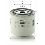Filtr MANN-FILTER W 917