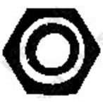 Nakrętka, kolektor wydechowy BOSAL 258-030