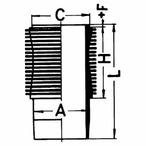 Tuleja cylindrowa KOLBENSCHMIDT 88839110