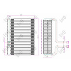 Parownik klimatyzacji ABAKUS 038-020-0001