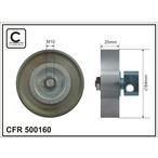 Rolka napinacza paska klinowego wielorowkowego CAFFARO 500160