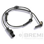 Czujnik prędkości obrotowej koła (ABS lub ESP) BREMI 50224