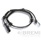 Czujnik prędkości obrotowej koła (ABS lub ESP) BREMI 50250