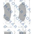 Klocki hamulcowe - komplet FOMAR FRICTION FO 487081