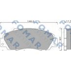 Klocki hamulcowe - komplet FOMAR FRICTION FO 488181
