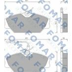 Klocki hamulcowe - komplet FOMAR FRICTION FO 492681