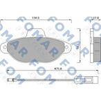 Klocki hamulcowe - komplet FOMAR FRICTION FO 582881