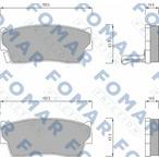 Klocki hamulcowe - komplet FOMAR FRICTION FO 623781
