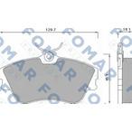 Klocki hamulcowe - komplet FOMAR FRICTION FO 625381