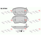 Klocki hamulcowe - komplet FTE BL1876A4