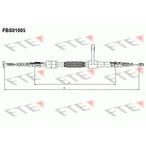 Linka hamulca postojowego FTE FBS01005