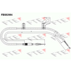 Linka hamulca postojowego FTE FBS02064