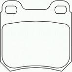 Klocki hamulcowe - komplet BREMBO P 59 014
