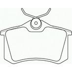 Klocki hamulcowe - komplet BREMBO P 85 020