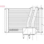 Parownik klimatyzacji DENSO DEV07005