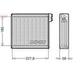 Parownik klimatyzacji DENSO DEV09011